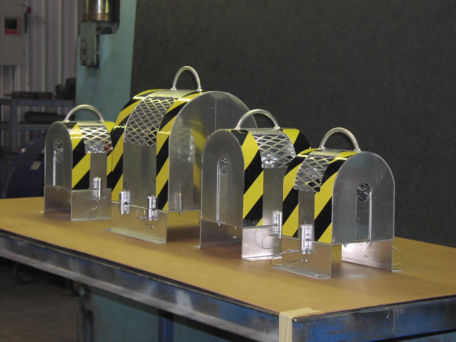 Paper Mill Aluminum Coupling Guards