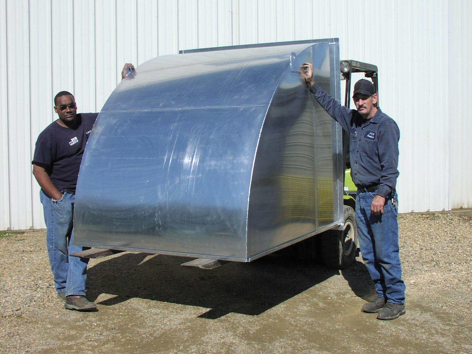 Weyerhaeuser Idabel OK AL  Exhaust Hood 003 – FCM Products Inc