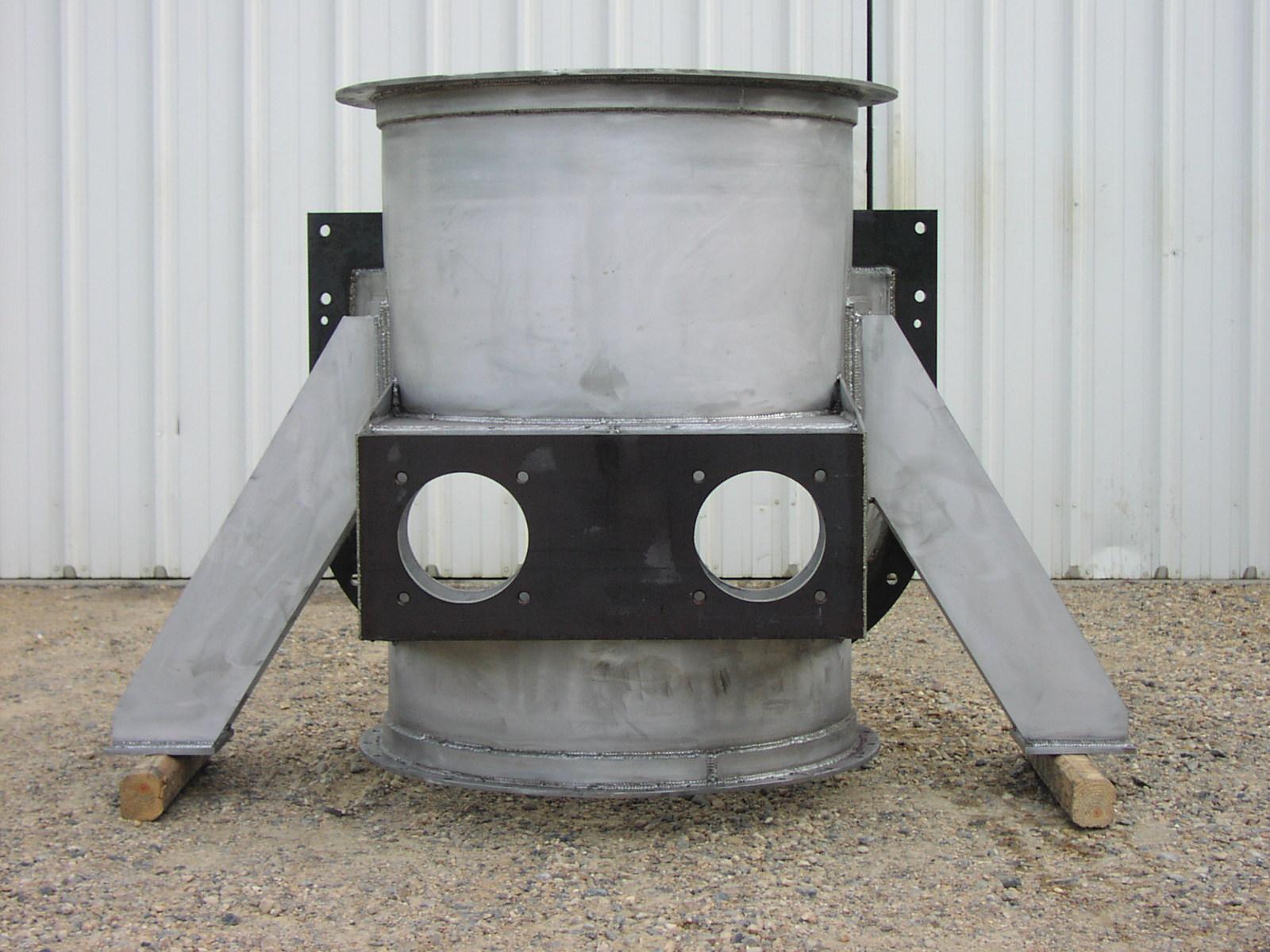 Stainless Steel Spar Tee
