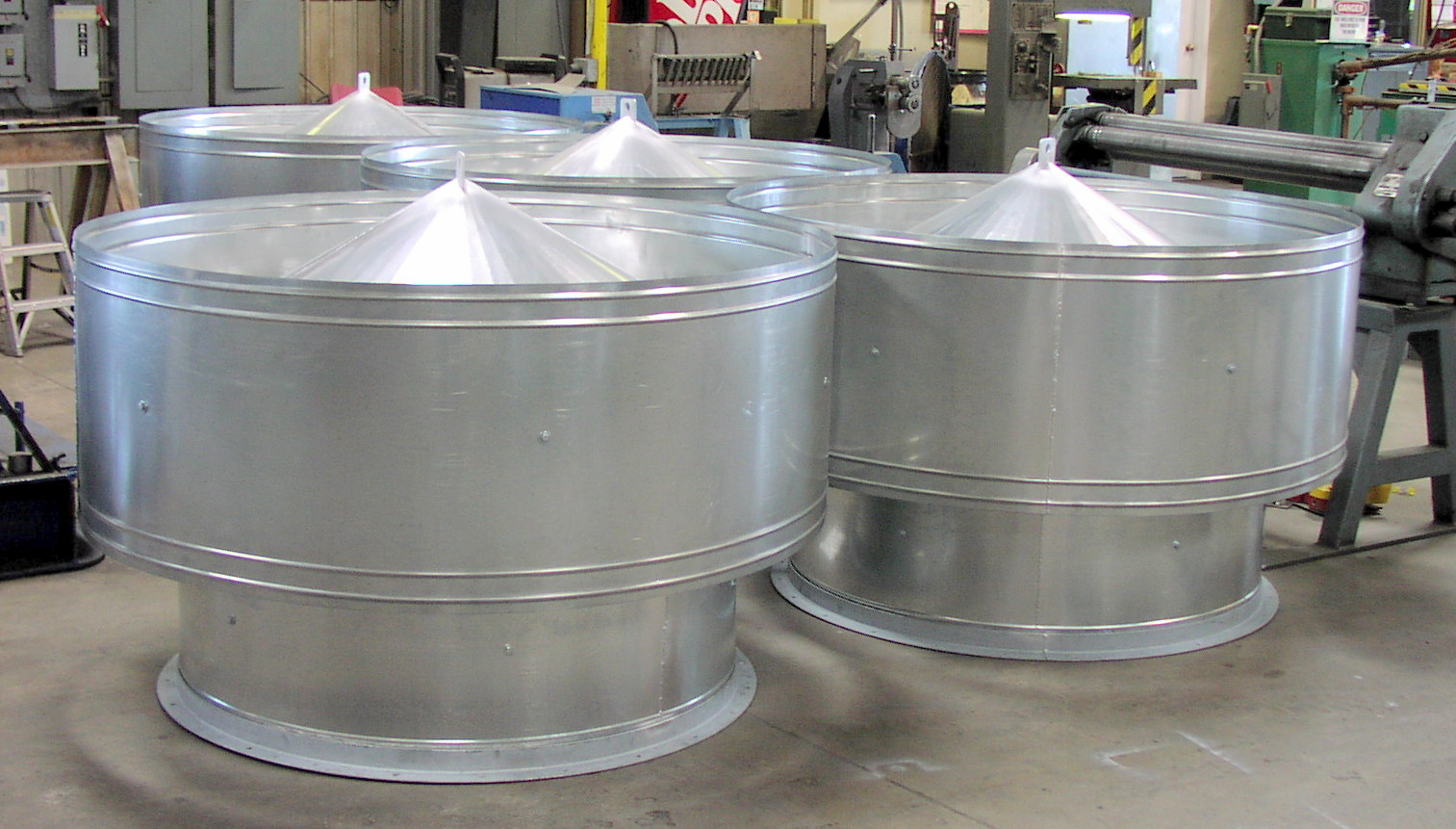 Exhaust Stack Ventilation Covers