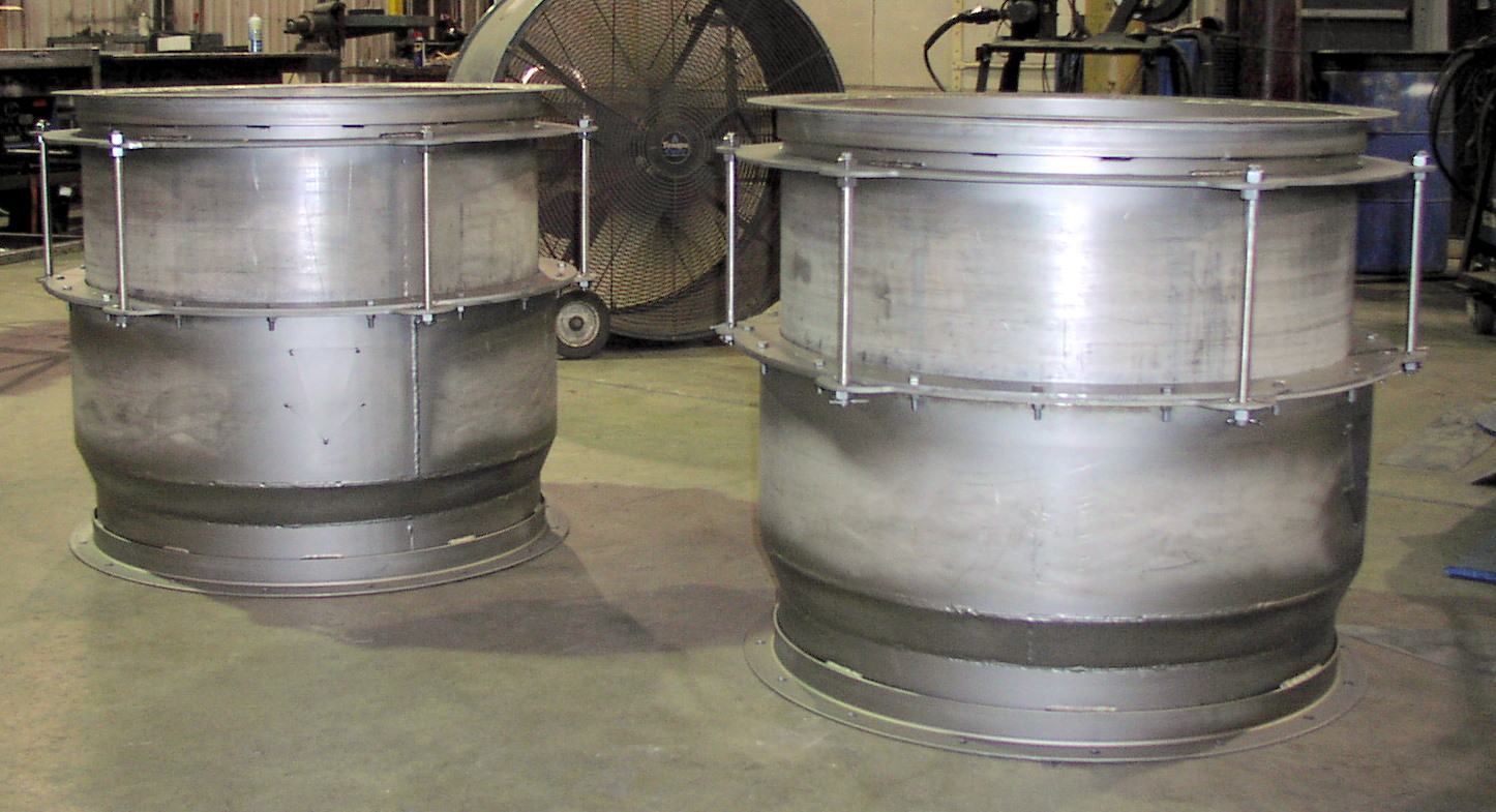 Aluminum SS Furnace Expansion Duct
