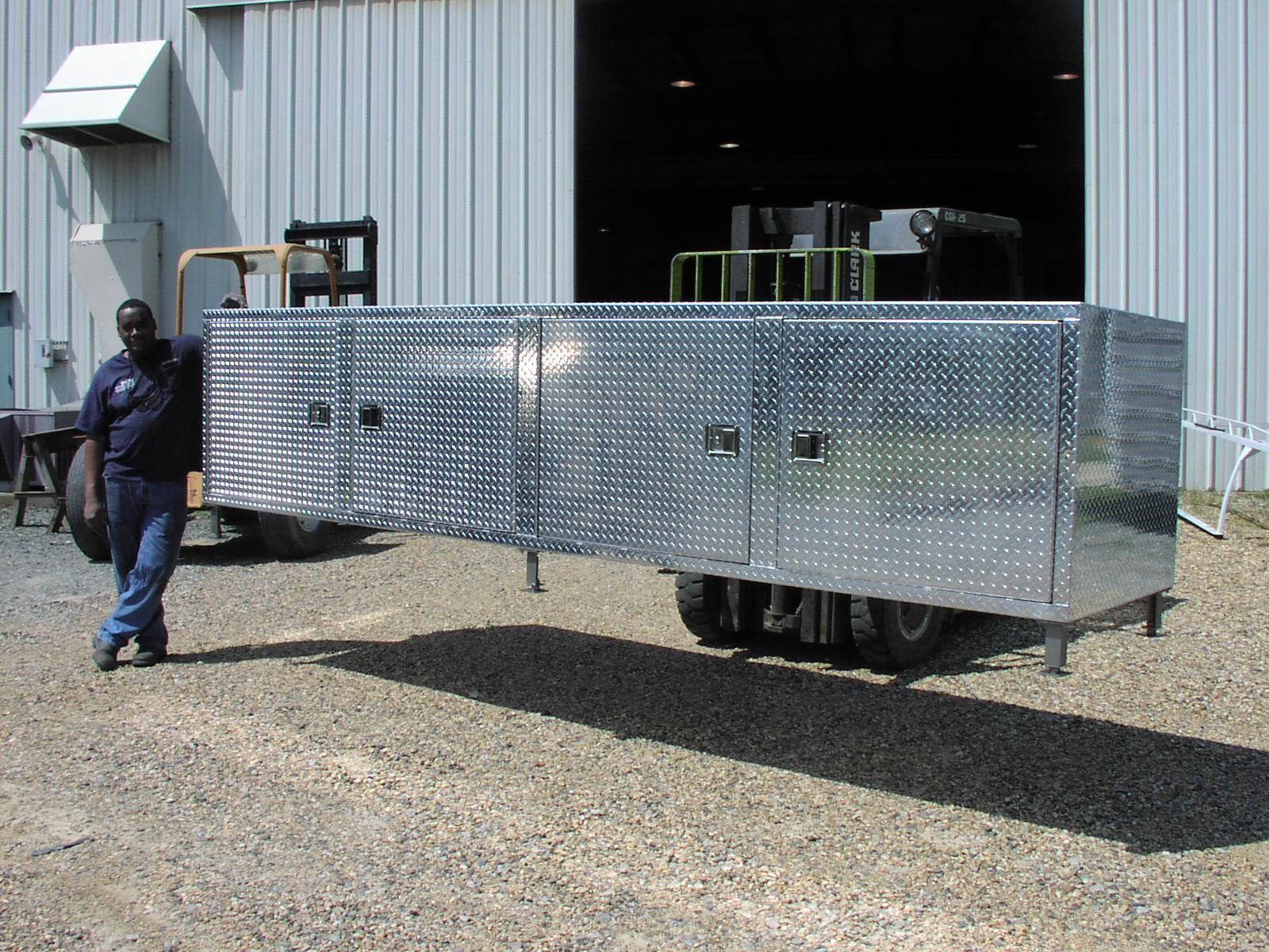 Paper Mill Aluminum Storage Box