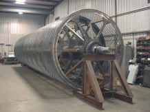 Paper Mill Chip Drum Screen
