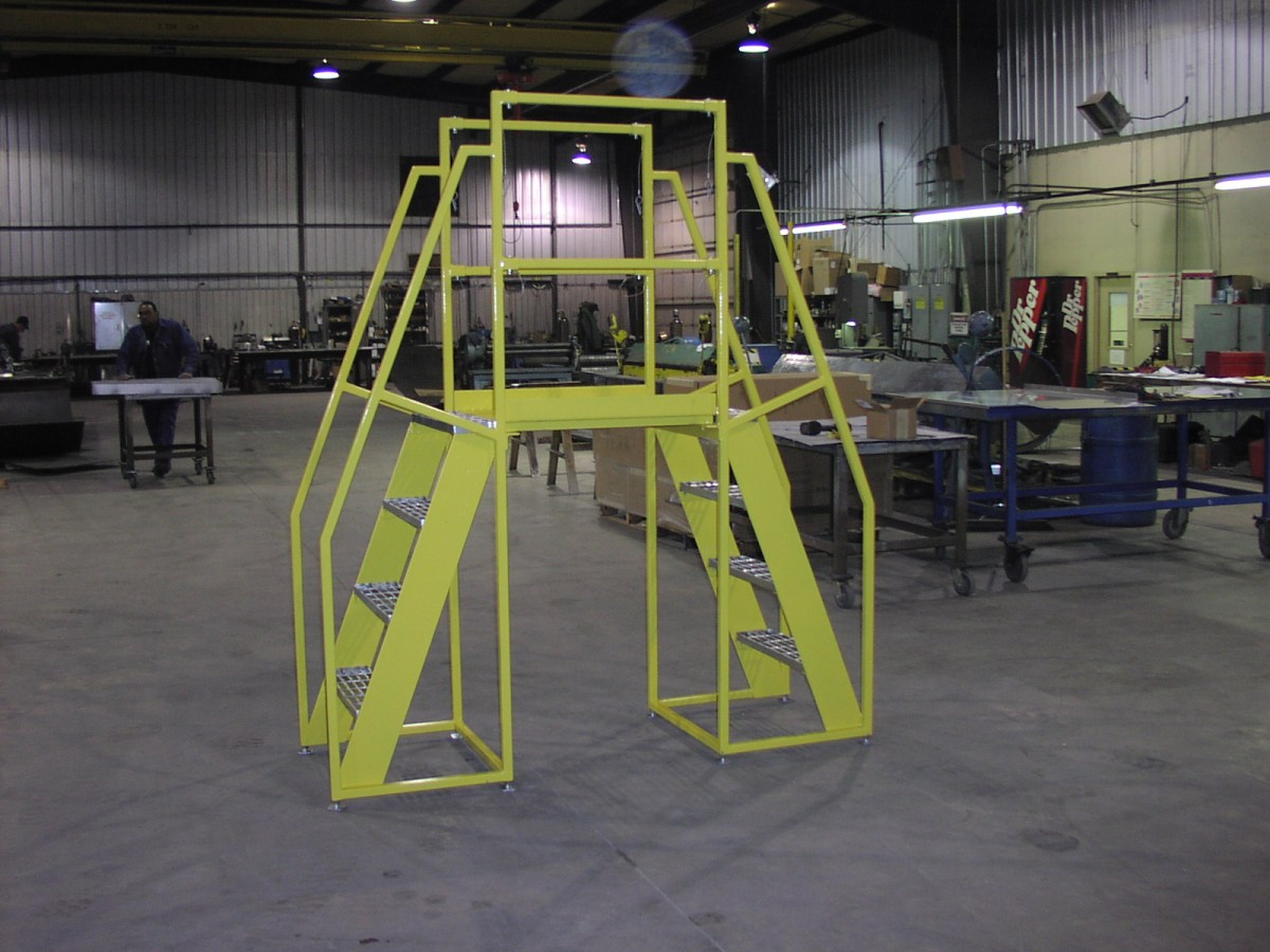 Paper Mill Finishing RM Crossover Platform