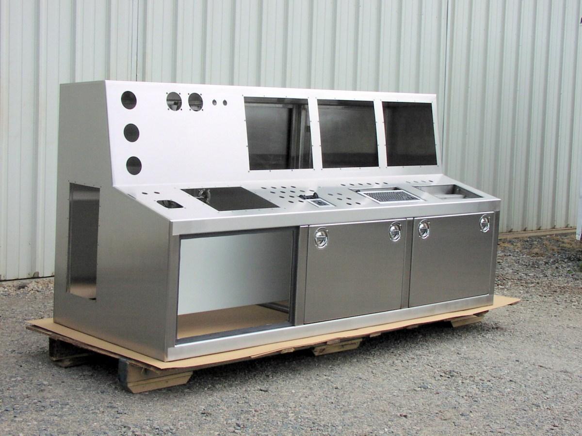 Paper Mill Control Console