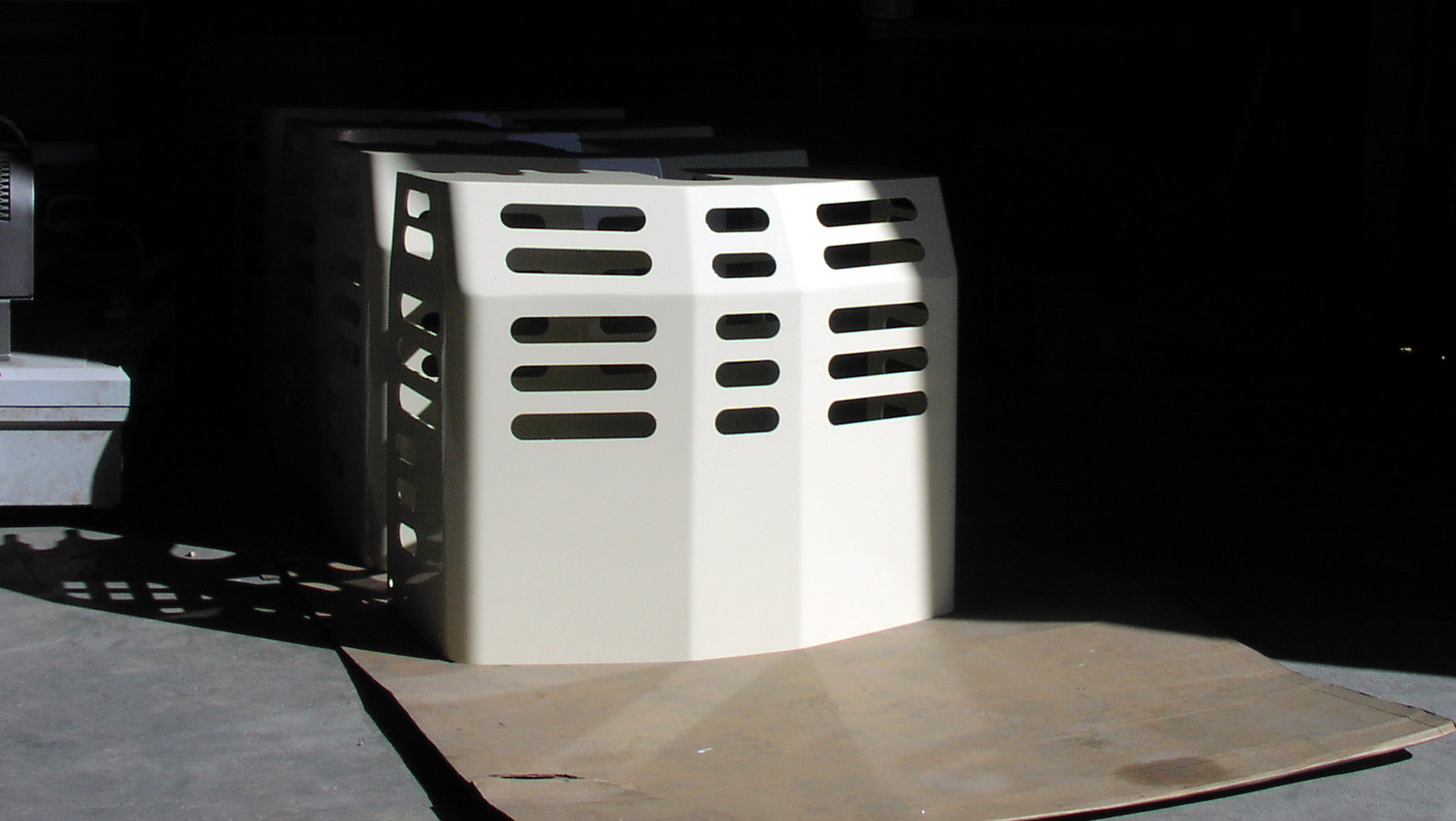 Tire Company Tow Motor Battery Cover