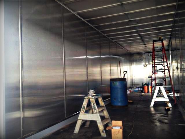 Mobile kitchen trailer 4
