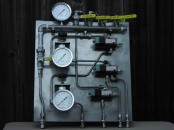 Domtar's Air Pressure Gauges and Valves
