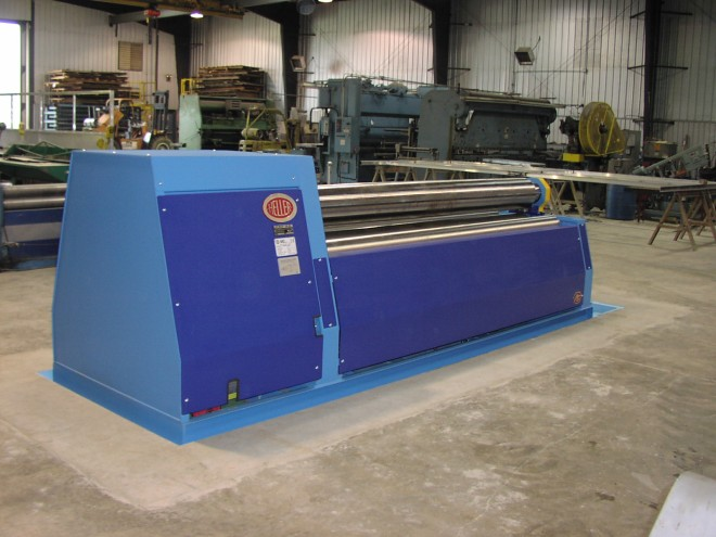MG Four Roll Plate Roll