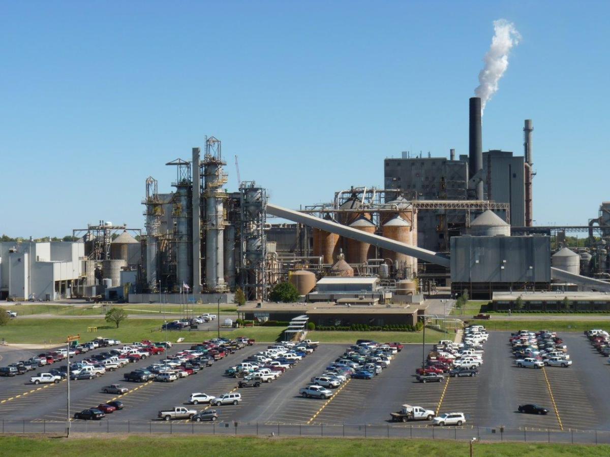 International Paper's Valliant Mill