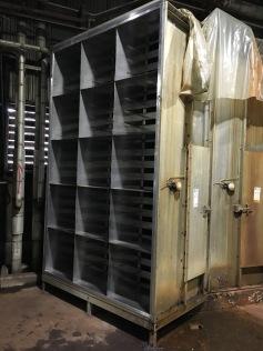 Stainless steel filter rack