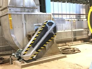 Aluminum Belt Guard for the Dryer Hood Exhaust Fan