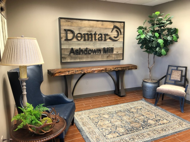 Domtar Ashdown Sign