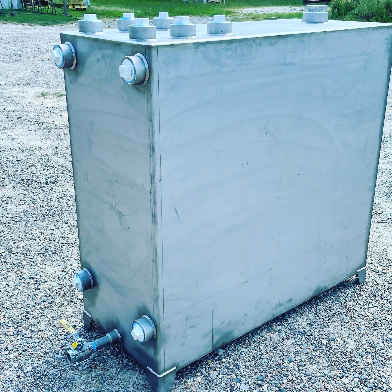 Stainless steel N-O Sump Tank